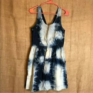 American Eagle Dress SZ 6 Mini Acid Wash Denim